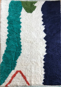 'Ink' Contemporary Berber Rug
