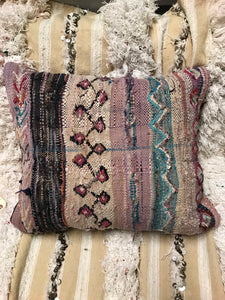 'Cherry Fields' Kilim Cushion