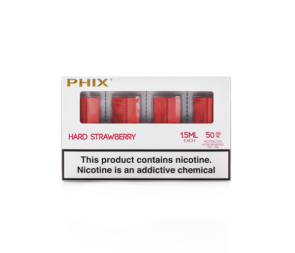 Phix Pod Hard Strawberry Cartridge