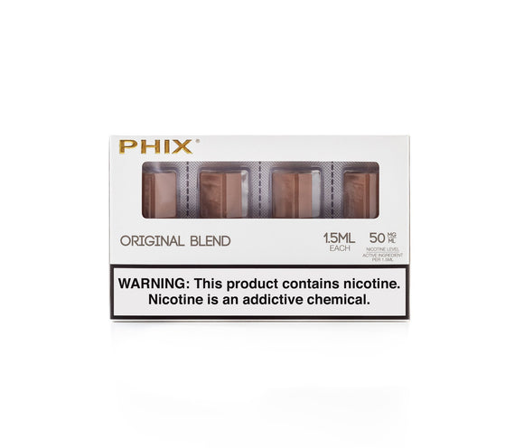 Phix Pods Original Tobacco Cartridge Phix Compatible