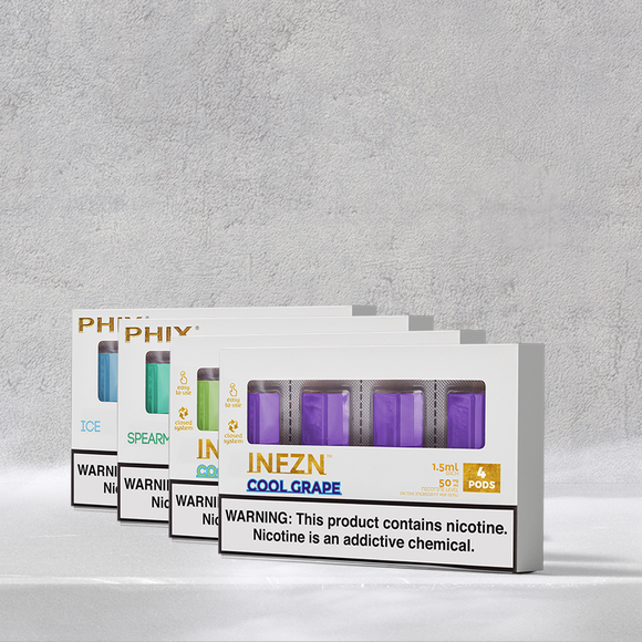 PHIX BUNDLE MENTHOL DEAL 3 PACKS and 1 BASIC KIT