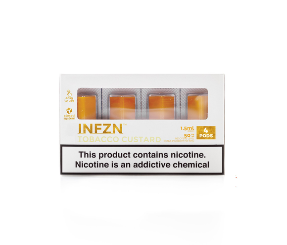 PHIX PODS Infzn Tobacco Custard Phix Compatible Cartridge