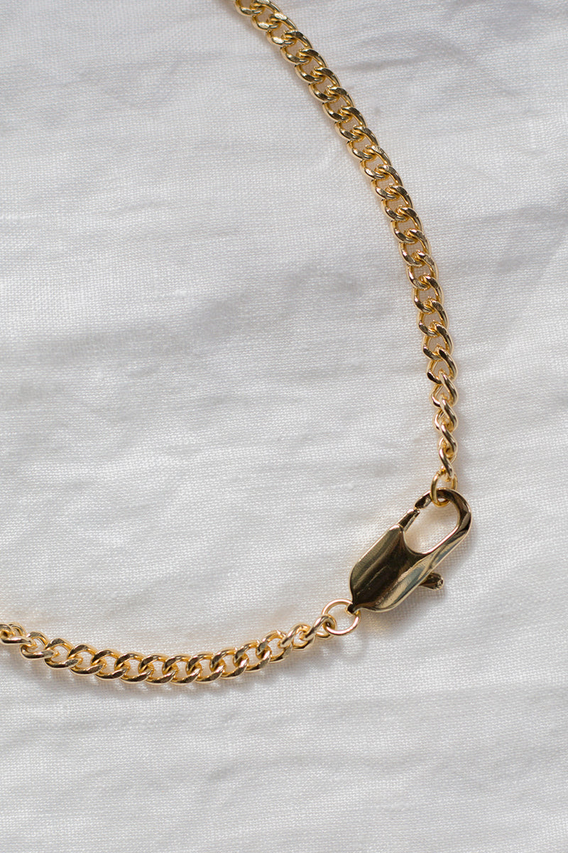 CUBA GOLD CHAIN NECKLACE