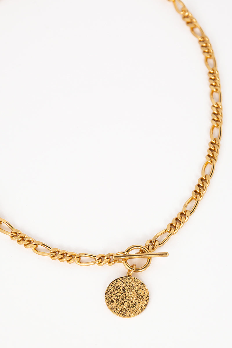 AMBER SCEATS ASHLEY NECKLACE GOLD