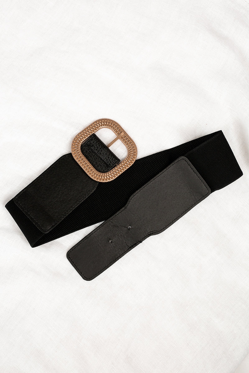 BOUND BABY BLACK RATTAN BELT