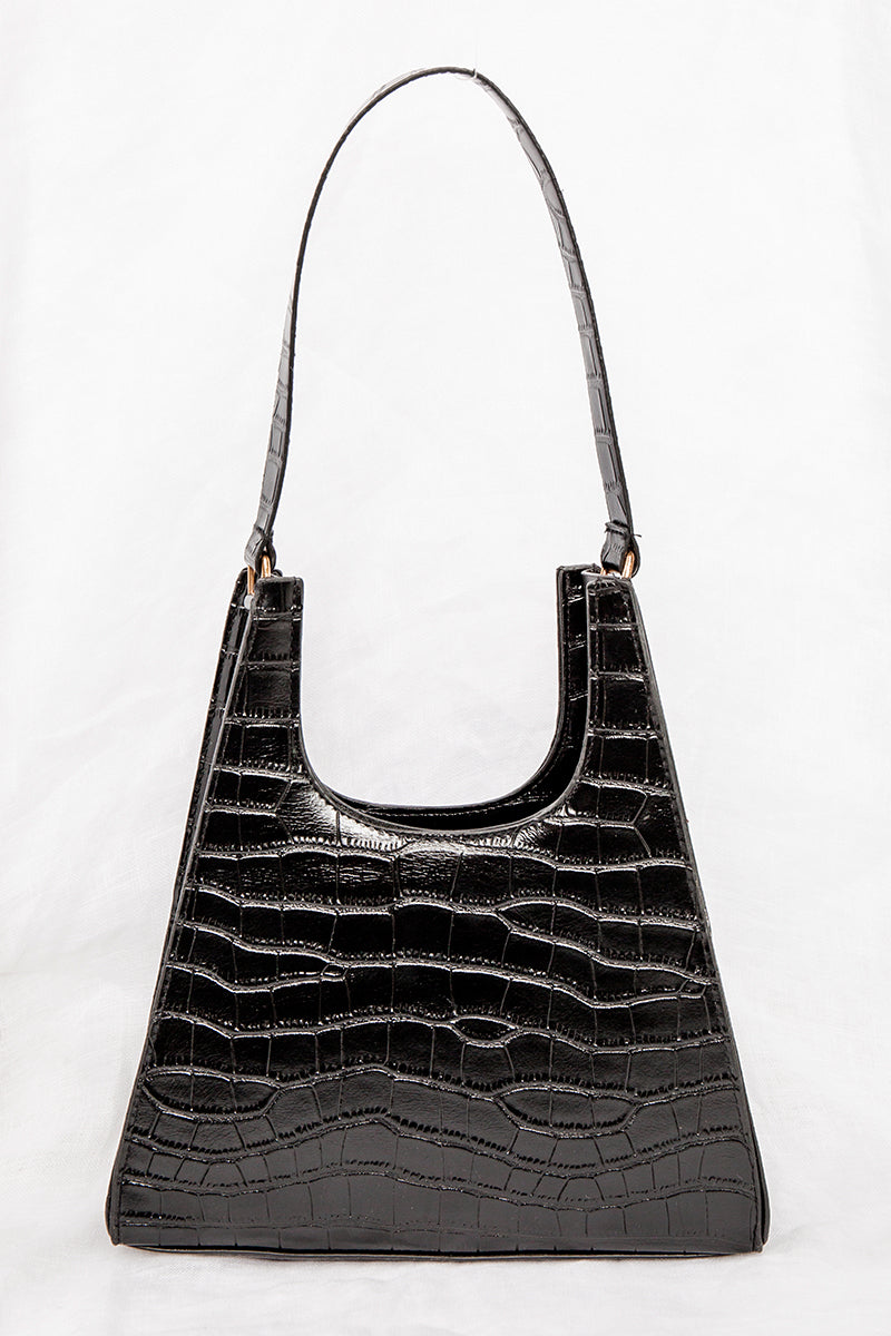 MILESTONE BLACK CROC BAG