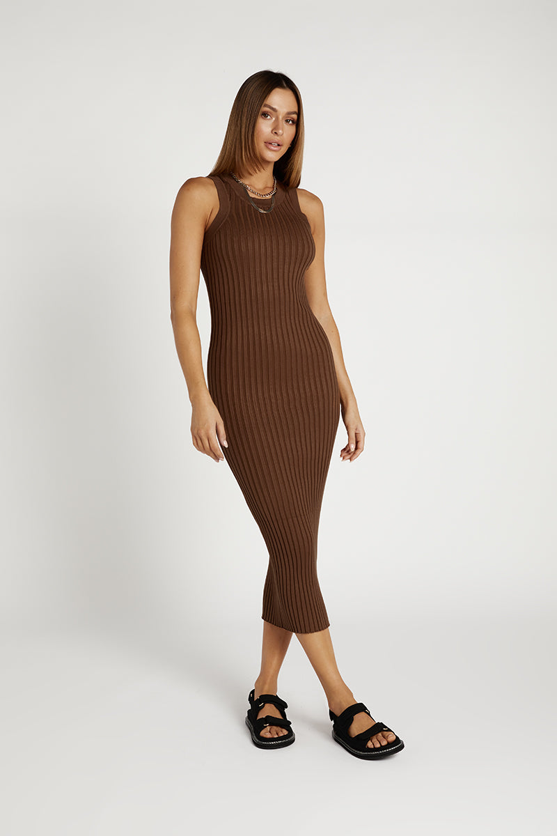 MADISON THE LABEL SIENNA KNIT DRESS