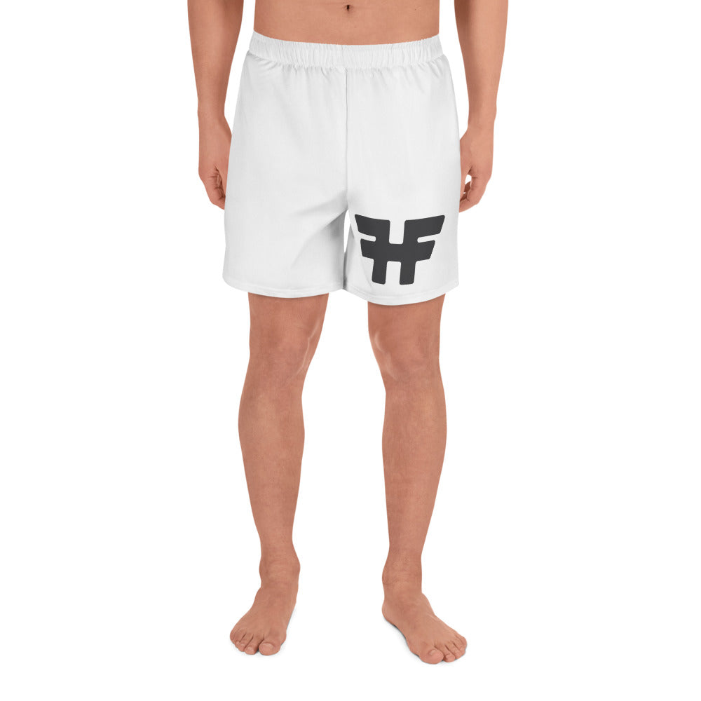 Fractured Heels Fighters Men's Athletic Long Shorts - fracturedheelsrecoverystories