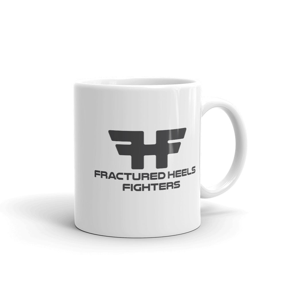 Fractured Heels Fighters Mug - fracturedheelsrecoverystories