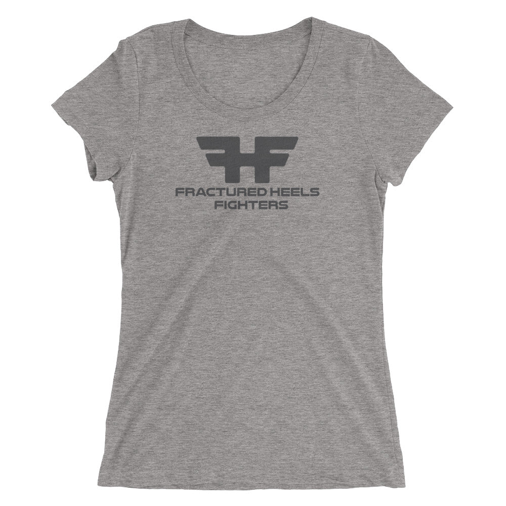 Fractured Heels Fighters Ladies' short sleeve t-shirt - fracturedheelsrecoverystories