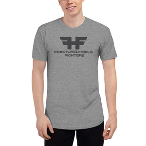Fractured Heels Fighters Unisex Tri-Blend Track Shirt - fracturedheelsrecoverystories