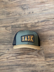 Army Sask Trucker Hat | Brouhaha Lid Co