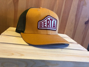 Berta Yellow Meshback Hat