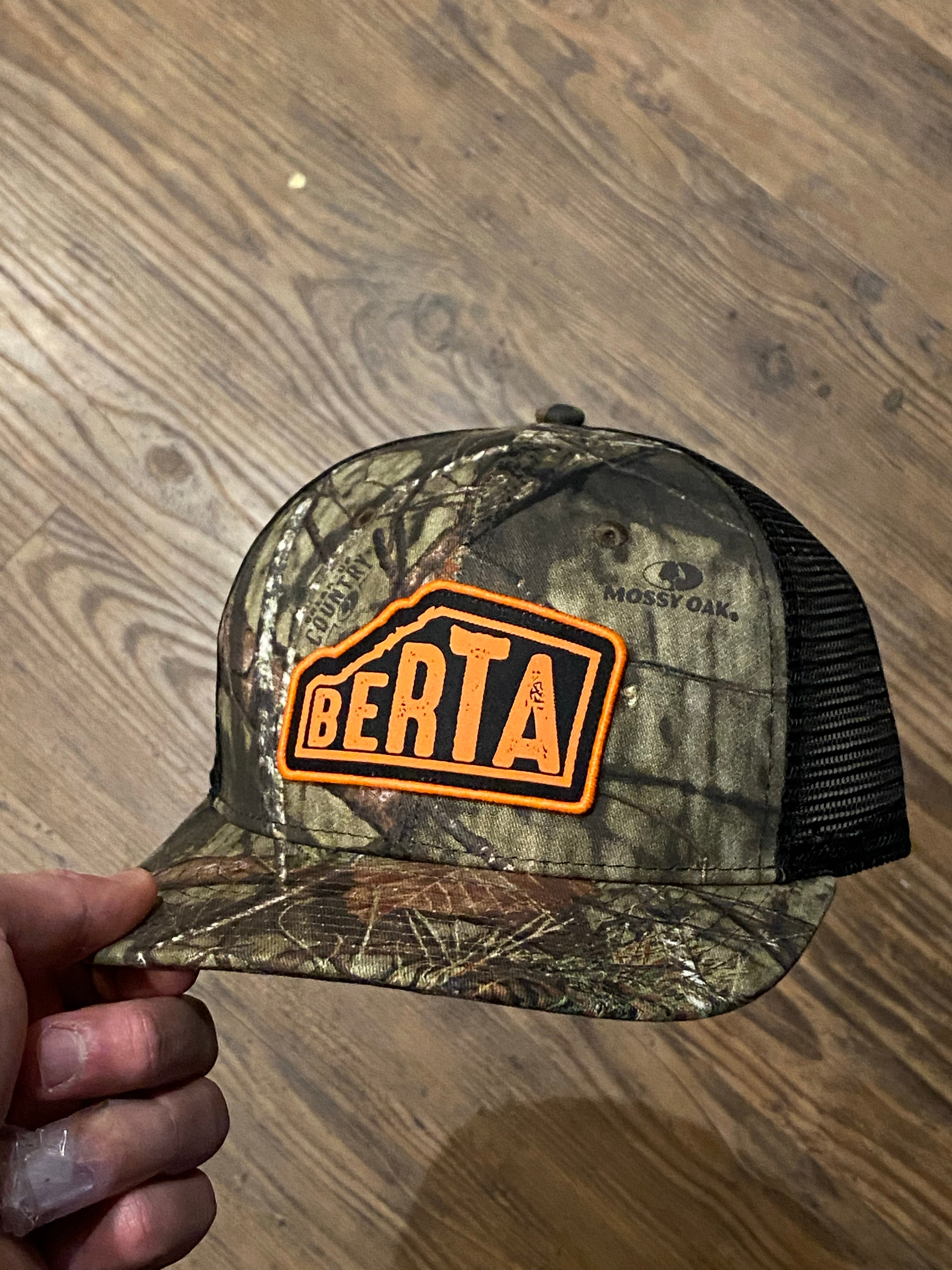 Mossy Oak Berta Trucker Hat | Brouhaha Lid Co
