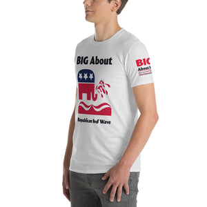 Republican Red Wave Short-Sleeve T-Shirt