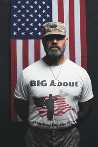 Standing for the Flag Short-Sleeve T-Shirt