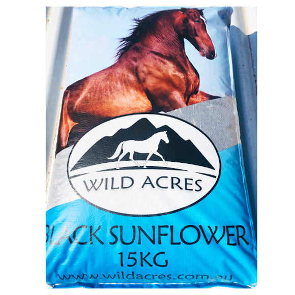 Avigrain Wild Acres Black Sunflower Seed 15kg