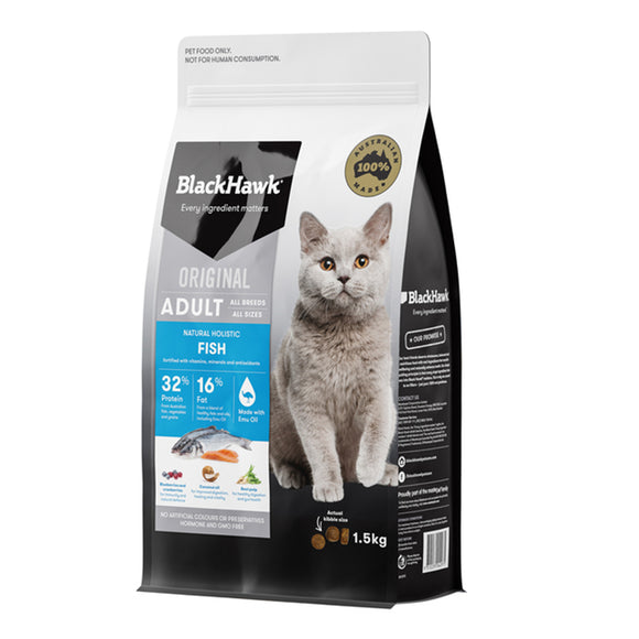 Blackhawk Cat Food Fish