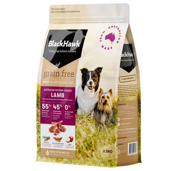 Blackhawk Dog Grain-Free Lamb