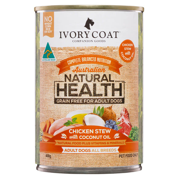 Ivory Coat Chicken Coconut Stew