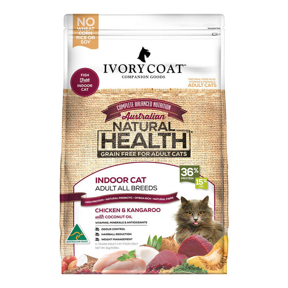 Ivory Coat Chicken & Kangaroo Grain Free Adult Dry Cat Food