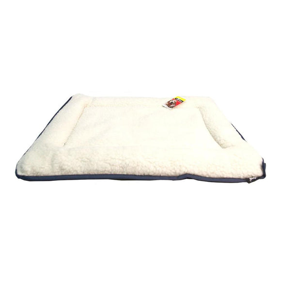 Pet One Bed Cushion Sheepskin Rectangular 76 x 48 cm