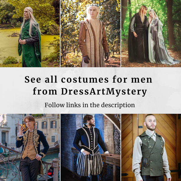 Men Rococo costume - Dress Art Mystery