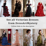 Victorian walk costume - Dress Art Mystery