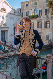 Men Rococo costume -dress-design-handmade-costume-Dress Art Mystery