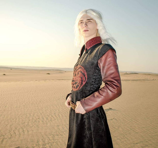 Viserys Targaryen tunic -dress-design-handmade-costume-Dress Art Mystery
