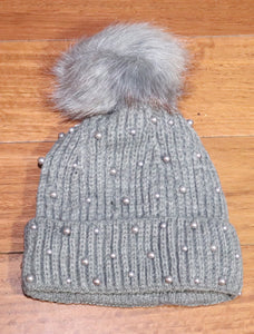 Pearl Knitted Beanie