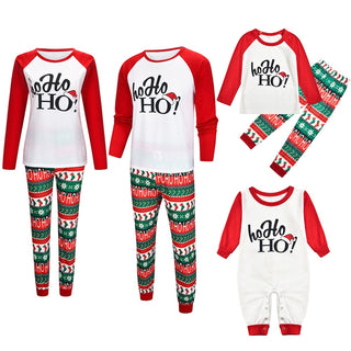 Family Christmas Pajamas Set 2020 Deer Sleepwear Clothes Family Matching Outfits