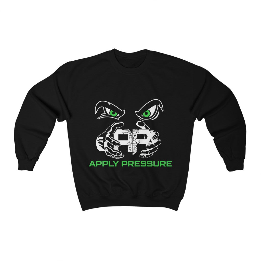 Men's (Mean Green)Crewneck Sweatshirt