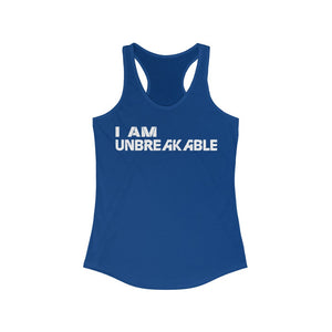 Women's White 'Unbreakable' Tank
