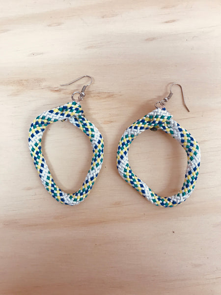 HYBRID CELLS - Shapeshifter Earrings White/Multicolour (Small)