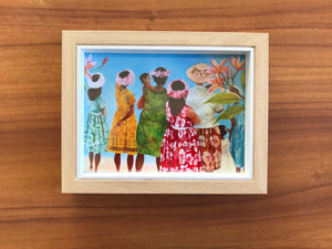 Aunties - Art print & card