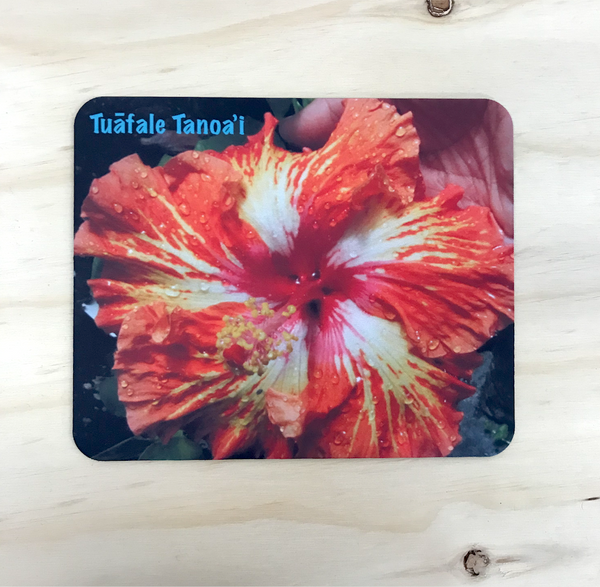 Limited Edition - Hibiscus Mousepad by Tuafale Tanoa'i