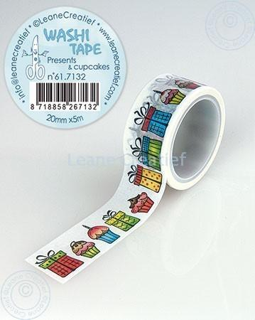 Washi Tape Presents & Cupcakes 20mm x5m