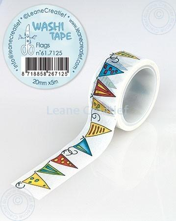 Washi Tape Flags 20mm x 5m