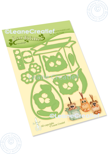 Lea'bilitie Box Pets Party Cut and Embossing Die