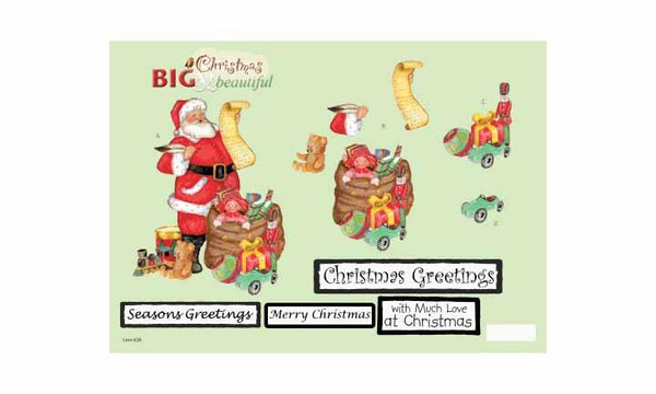 Craft UK B&B Christmas Santa