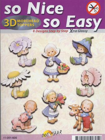 Morehead So Nice and Easy (8) - Children with flowers (pack 8)