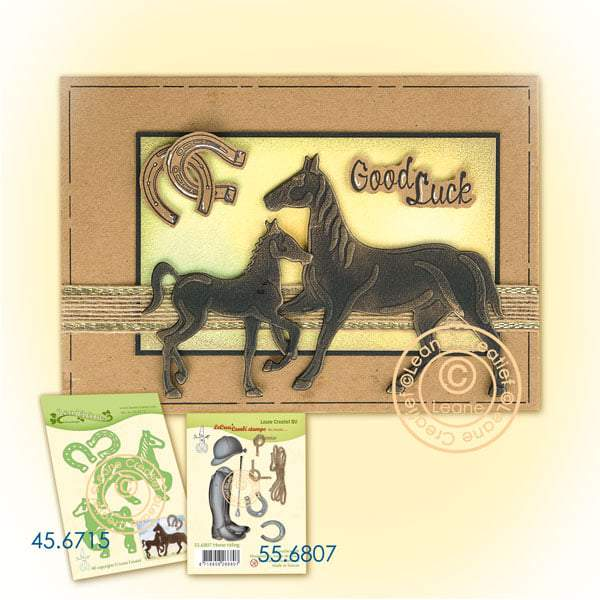 Lea'bilitie Horse & Foal Cut and Embossing Die
