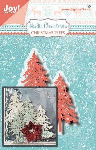 Joy! Craft Die Noor Nordic Christmas Pine