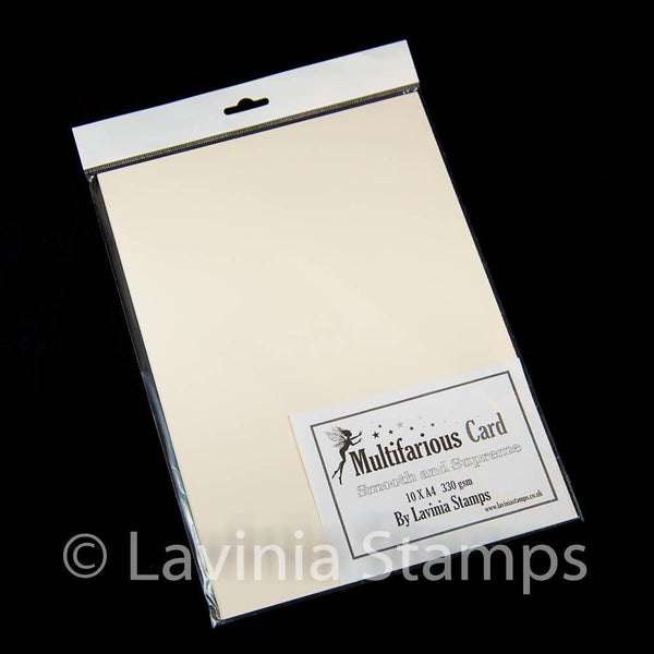Multifarious Card A4 (8.27 x 11.69 in) cream 10 sheets
