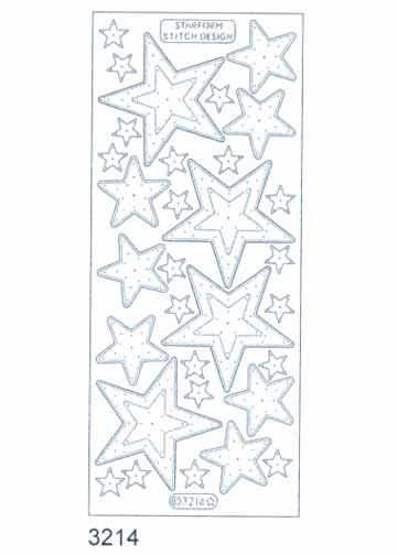 Stitch by Design Stickers - Stars