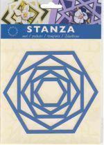Stanza Template - hexagon (ST - 4802)