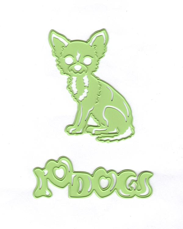 Lea'bilitie Chihuahua- Cut and Embossing Die