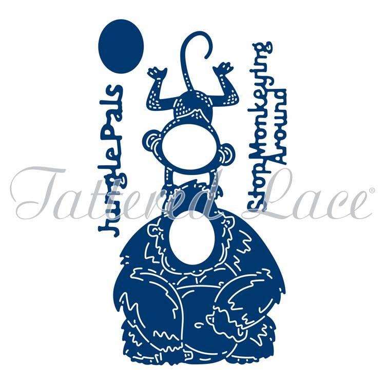 Tattered Lace Die - Monkeying Around