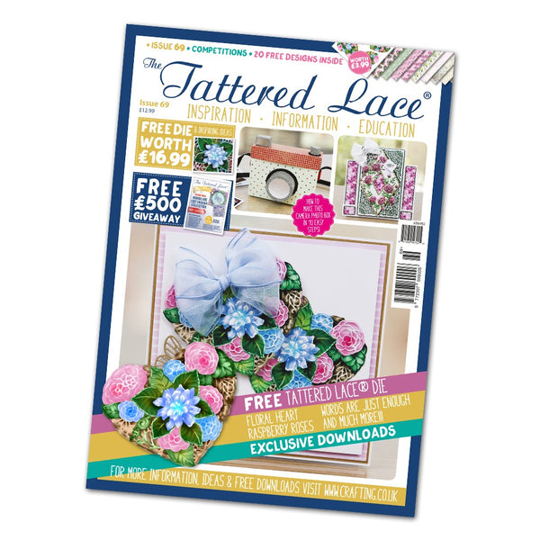 The Tattered Lace Magazine Issue #69 with FREE Die